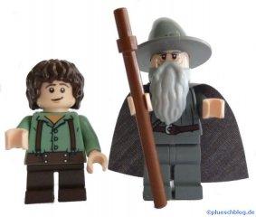 Frodo und Gandalf